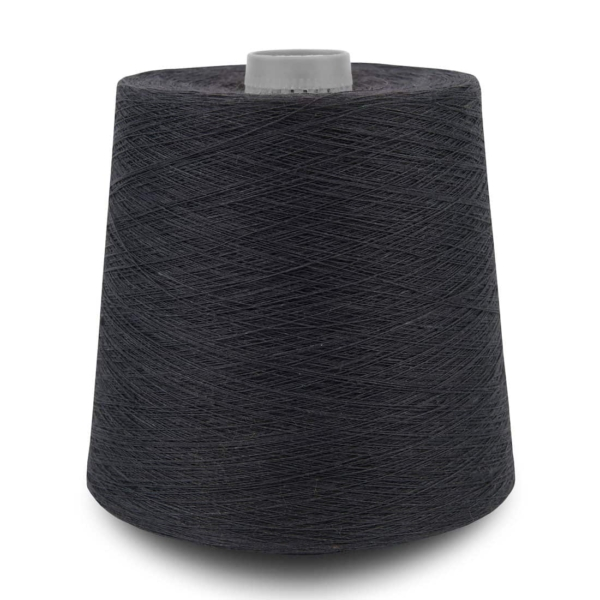 Dark grey (graphite) linen yarns 11(35) 1