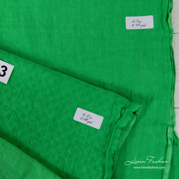 Linen Fabrics Cuts, Set No. 252