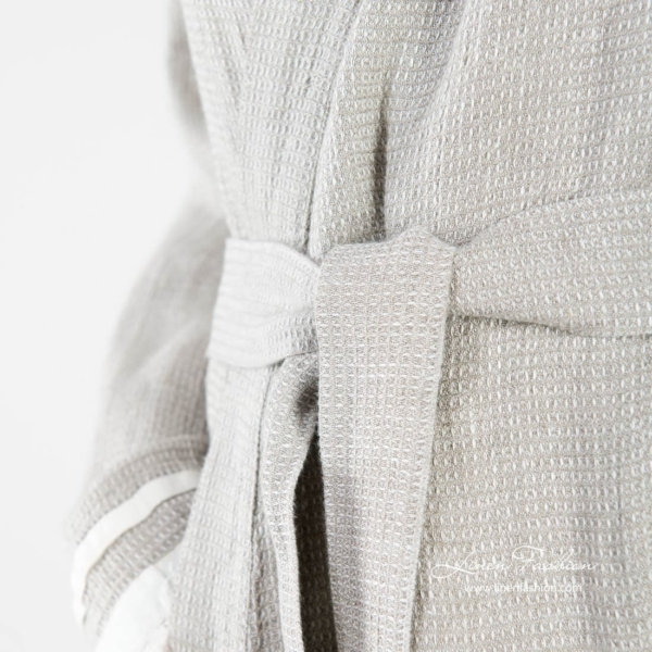 Grey colored robe for women, malta.