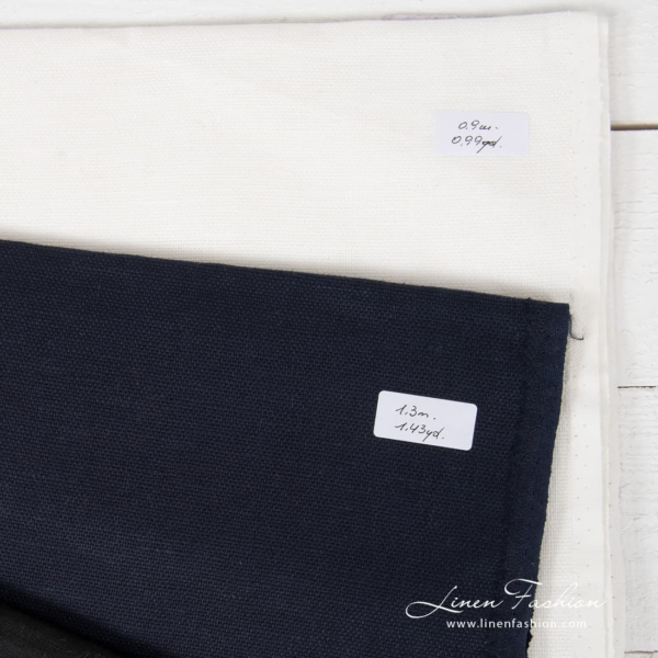 Set of linen fabric cuts Nr.271
