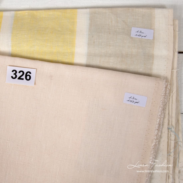 Set of linen fabric cuts Nr. 326.